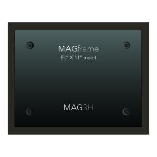 Letter size horizontal MAG Frame - Mocha - Product design