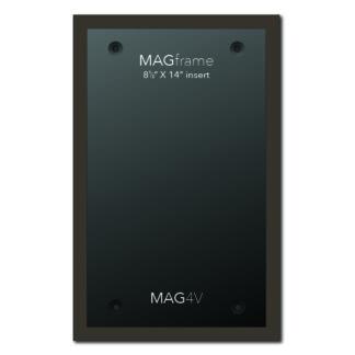 Legal size vertical MAG Frame - Mocha - Mobile Phone