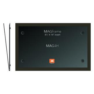 Legal size horizontal MAG Frame - Mocha - Product design