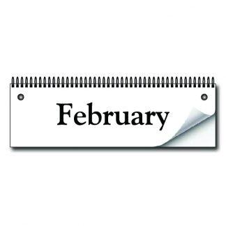 MyActivityBoard Month Flip Cards -