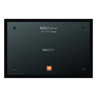 Tabloid size horizontal MAGFrame - Black - Product design