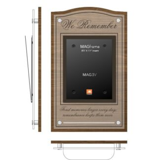 In Memory Board - with Quote and Shelf - Product design