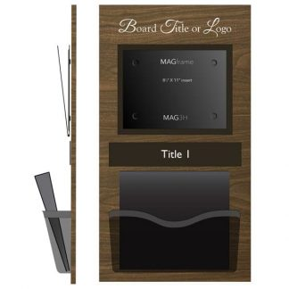 Horizontal Letter TABFrame with Binder Holder - Product design