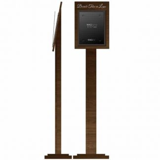 Freestanding Stand with Single Letter Portrait MAGFrame - Product design