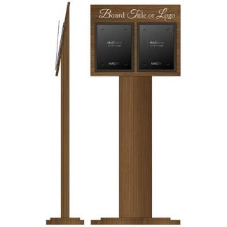 Freestanding Stand with Double Letter Portrait MAGFrames - Dining room