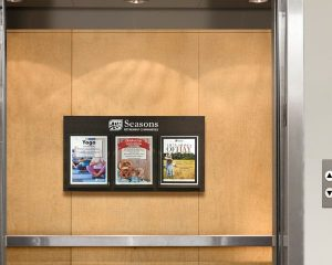 Fire-Rated Elevator Notice Boards - Elevator