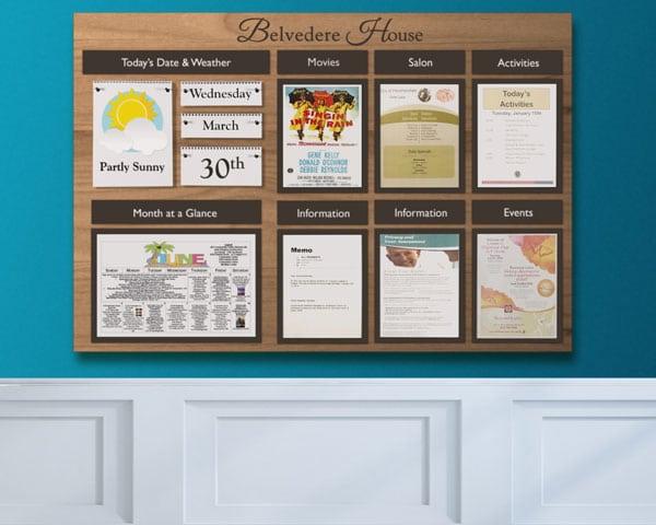 decorative bulletin boards large activity board